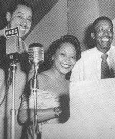 Lil Palmore with Cab Calloway and Al Benson