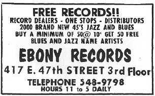 Ebony ad from  1973