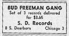 Ad for S D 504, 505, and 506,  May 1947