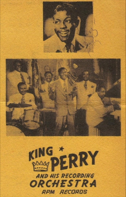 King Perry promotional mailer from his RPM days