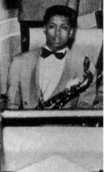 Tom Archia in the Milt Larkin Band, 1942