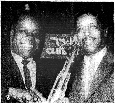 Little Wash and Tom Archia at McKie's, 1959