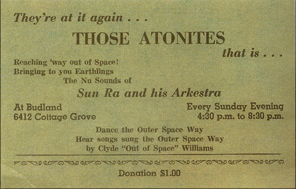Atonite announcement from  1957