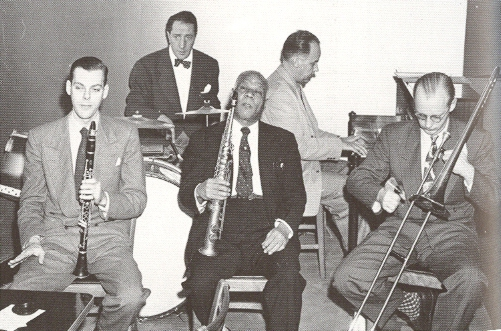 Sidney Bechet with the Jazz Ltd. House ensemble