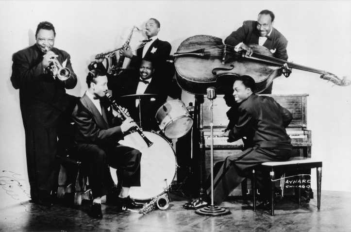 Bill Martin band, Chicago 1945