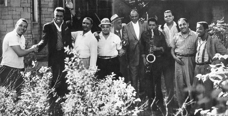 The Blues Party lineup, Summer 1960