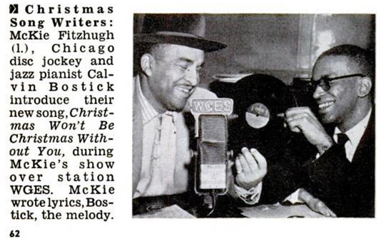 McKie Fitzhugh and Calvin Bostick, Jet, January 1, 1953