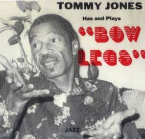 Front cover of Tommy Jones' LP