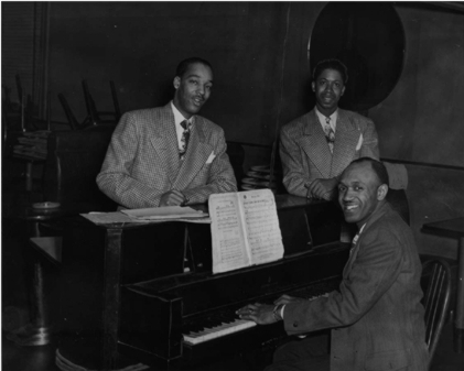 Buster's Trio at Millie's Lounge, 1943 or 1944