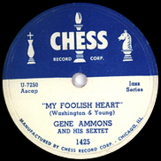 Chess 1425 by Gene Ammons
