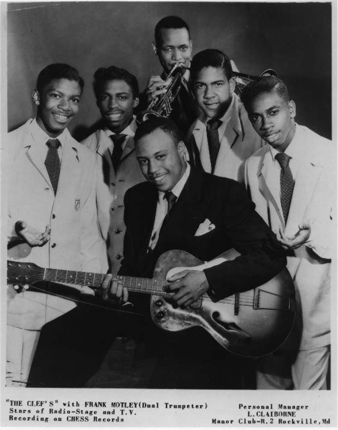 The Clefs in 1952 with Frank Motley