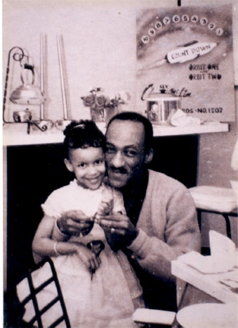 Claude McLin and daughter 1961