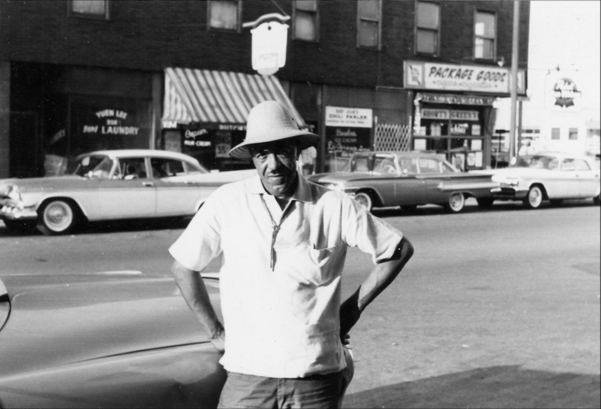 Junie C. Cobb at 35th and Calumet, 1961