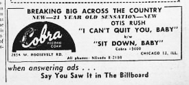 Ad for Cobra 5000, Billboard,September 8, 1956, p. 55