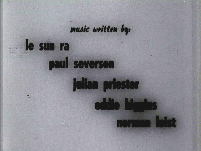 Composer credits in The Cry  of Jazz