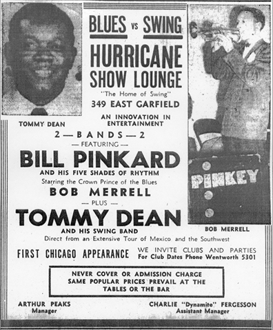 Tommy Dean ad, January 27, 1945