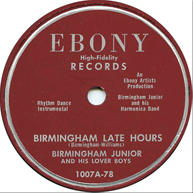 Birmingham Junior on Ebony 1007