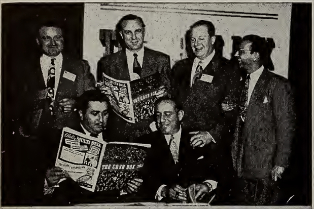 Lee Egalnick at the CMI convention, January 1949
