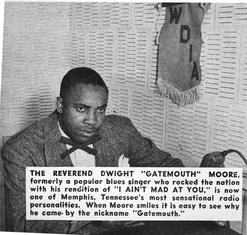 Gatemouth Moore in Memphis, Color magazine, March 1950
