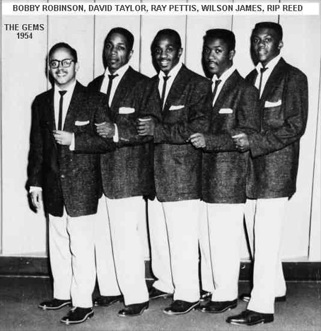 The Gems in 1954