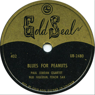 Paul Jordan and Bud Freeman on Gold Seal 402