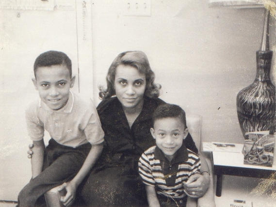 Jacquelyn McLin and sons 1961