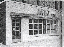 Facade of the original Jazz Ltd. club
