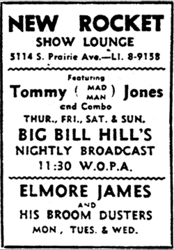 Tommy Jones ad, February 11, 1956