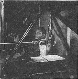 King Fleming at the Lorez Alexandria sessions, February or March 1957