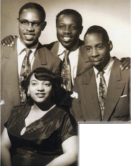 The great King Fleming quartet, 2nd photo, c. 1953