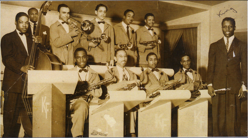 King Fleming's big band, possibly 1941