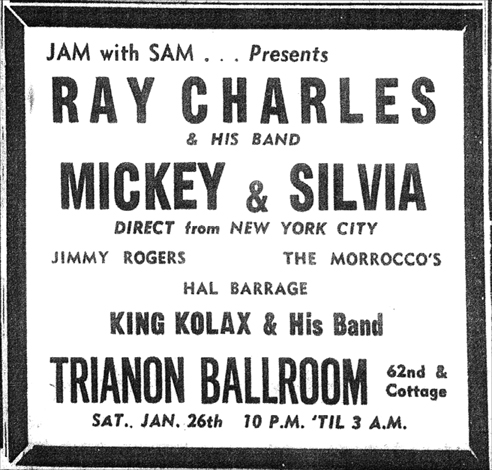 King Kolax does a Jam with Sam, January 26, 1957