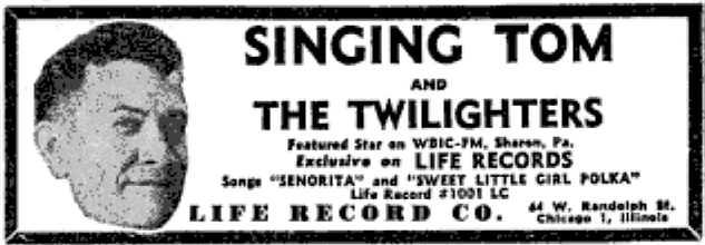 Ad for Life 1001, Billboard, September 24, 1949