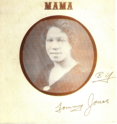 Front cover of Tommy Jones, Mama, M&M 2891-T.B.