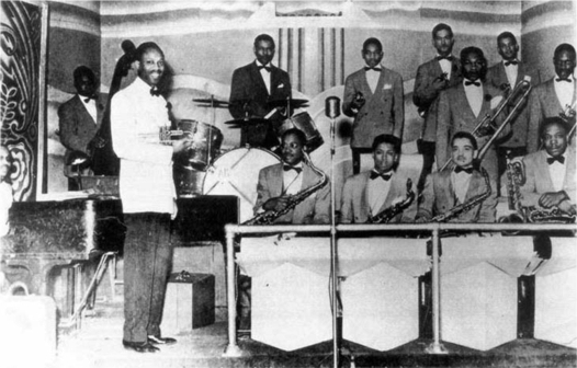 The Milt Larkin Band at the Rhumboogie, 1942