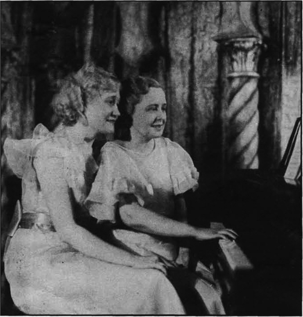 The Misses Noller and Straub in 1934