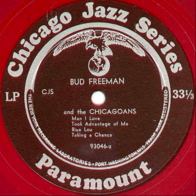 Bud Freeman, Paramount CJS105 Side A