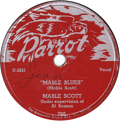 Mabel Scott,