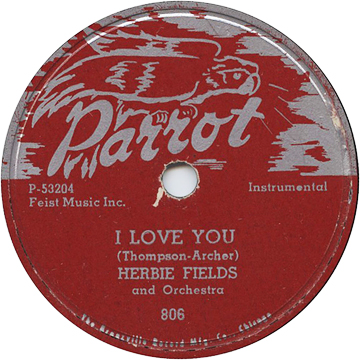 Herbie Fields,