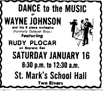 Last ad for Rudy Plocar, January 1971