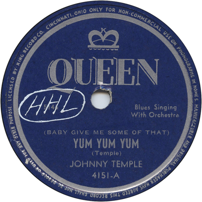 Johnny Temple,