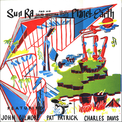Front cover of Visits Planet Earth LP