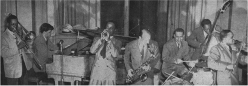 Red Saunders in a jam session, June 1943