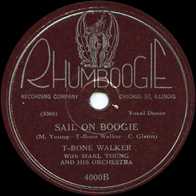 T-Bone Walker on Rhumboogie 4000