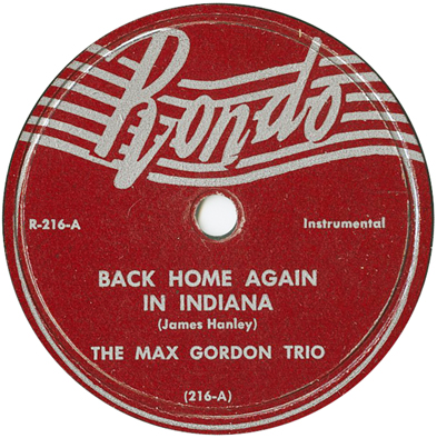 Max Gordon Trio,