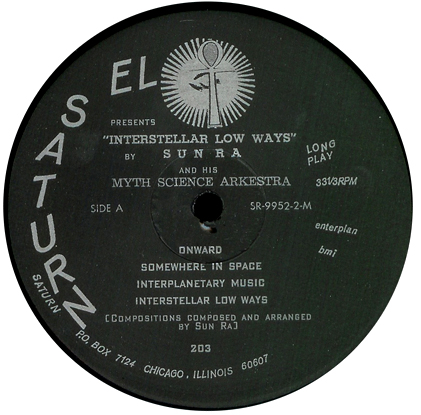Interstellar Low Ways, A side label