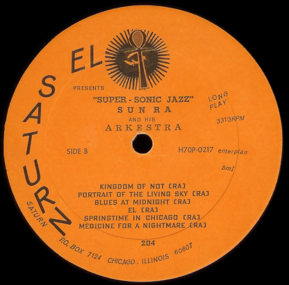B  side label of