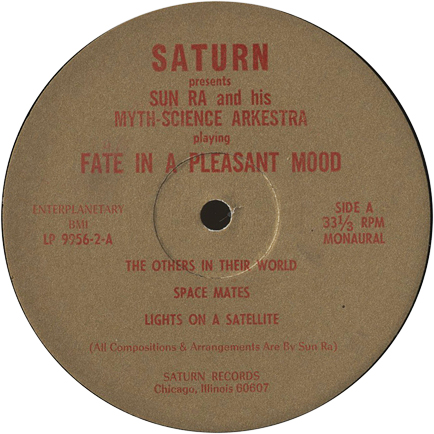 Side A label of Fate in a Pleasant Mood