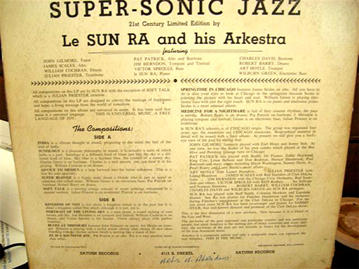 Super-Sonic Jazz, original back cover