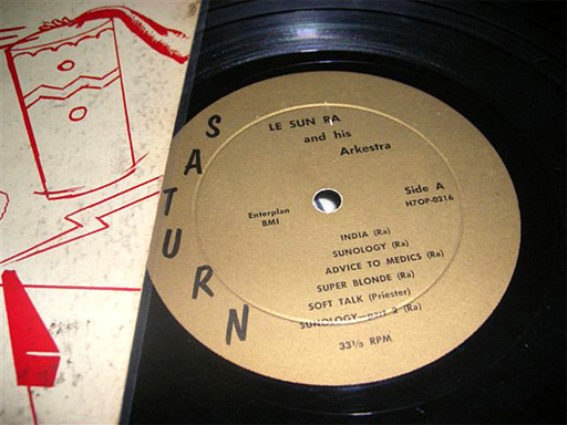 Super-Sonic Jazz, original Side A label